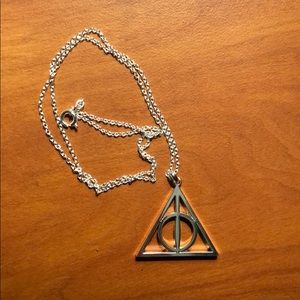 Jewelry - MOVING SALE Harry Potter Deathly Hallows Necklace